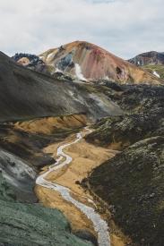 Obraz Duhové hory na Islandu