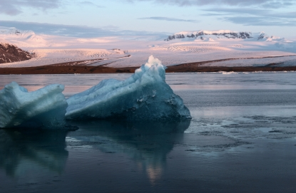 Obraz Plovoucí ledovce, Jökulsárlón, Island