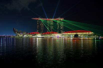 Obraz Noční Singapur