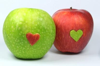 Obraz Zamilované jablka 1