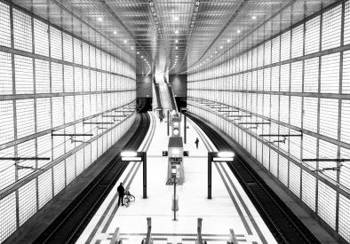 Obraz Metro line