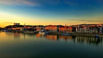 Obraz Bratislava na Dunaji