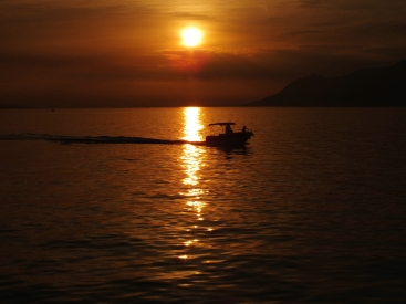 Obraz Konec dne v Chorvatsku