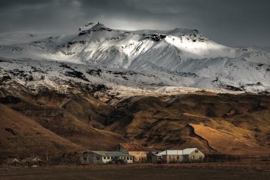 Obraz Islandská sopka Eyjafjallajökull