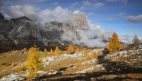 Obraz Podzim pod Tofanou