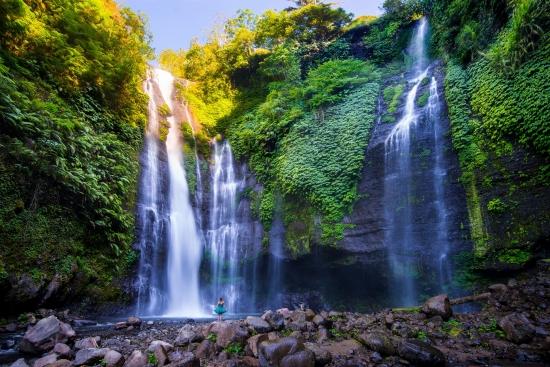 Obraz Vodopády Sekumpul - Bali