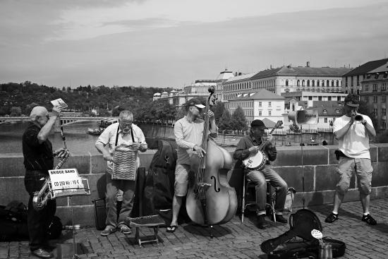 Obraz Na tom pražském mostě...